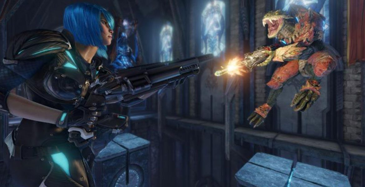 Quake Champions Receives New Gameplay Trailer